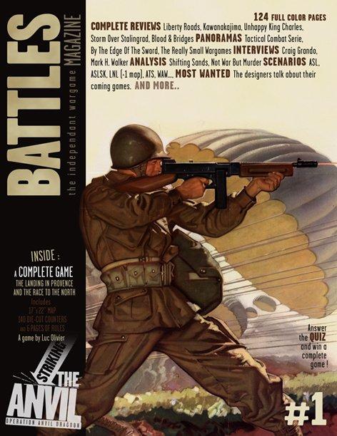 Striking the Anvil - BM 1 BattlesCover